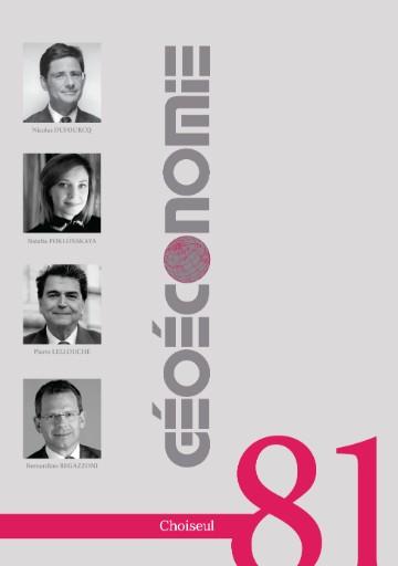 Géoéconomie Magazine Subscriptions