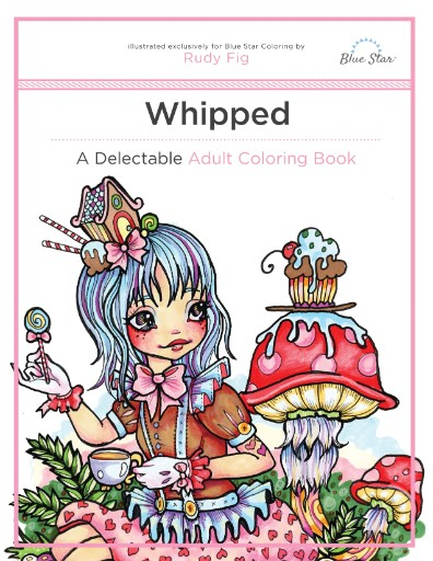 Whipped: A Delectable Adult Coloring Book Magazine Subscriptions