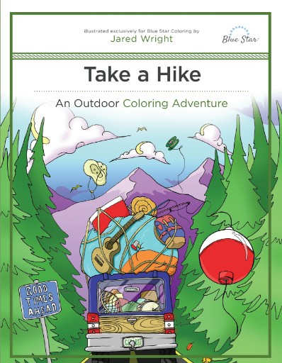 Take a Hike: An Outdoor Coloring Adventure Magazine Subscriptions
