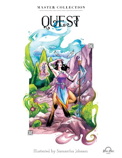 Quest: Stress Relieving Adult Coloring Book, Master Collection Magazine Subscriptions