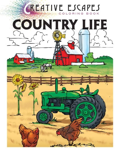 Creative Escapes Coloring Book - Country Life Magazine Subscriptions