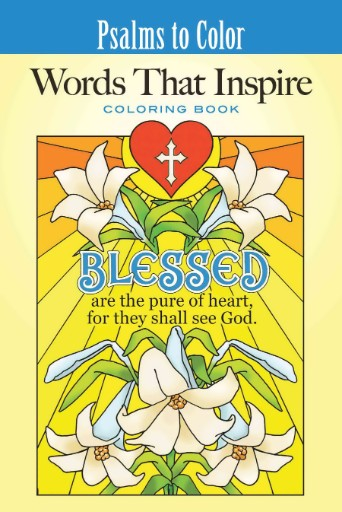 Psalms to Color: Words That Inspire Magazine Subscriptions