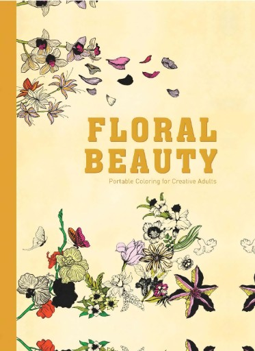 Floral Beauty: Portable Coloring for Adults Magazine Subscriptions