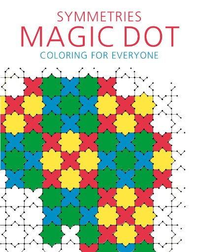 Symmetries: Magic Dot Adult Coloring for Everyone Magazine Subscriptions
