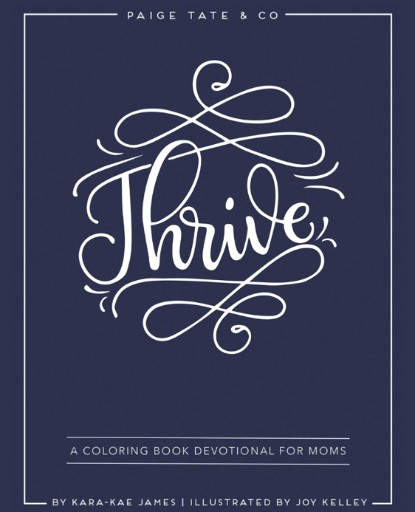 Thrive: A Coloring Book Devotional for Moms Magazine Subscriptions