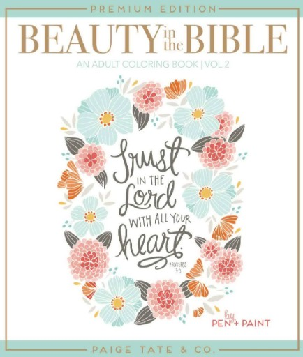 Beauty In the Bible: An Adult Coloring Book Vol. 2 Magazine Subscriptions