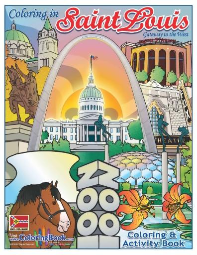 Saint Louis Coloring & Activity Book Magazine Subscriptions