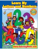 ABC-123 Learn My Letter & Numbers Really Big Coloring Book Magazine Subscriptions