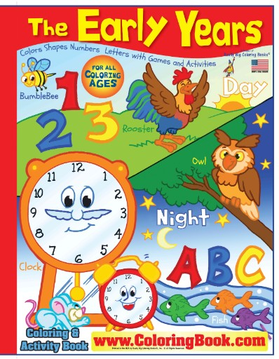 Early Years Really Big Coloring Book Magazine Subscriptions