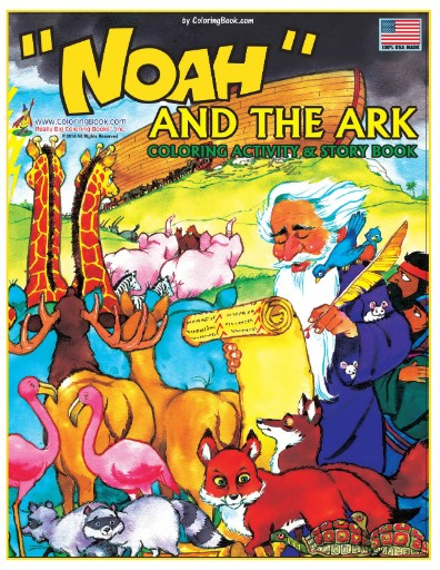 Noah & the Ark Really Big Giant Coloring Book Magazine Subscriptions
