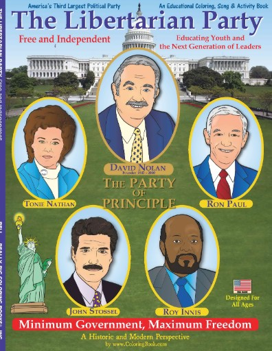 Libertarian Party - Free & Independent Coloring & Activity Book Magazine Subscriptions
