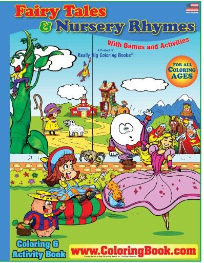 Fairy Tales & Nursery Rhymes Really Big Coloring Book ...