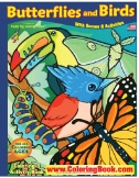 Butterflies & Birds Really Big Coloring Book Magazine Subscriptions