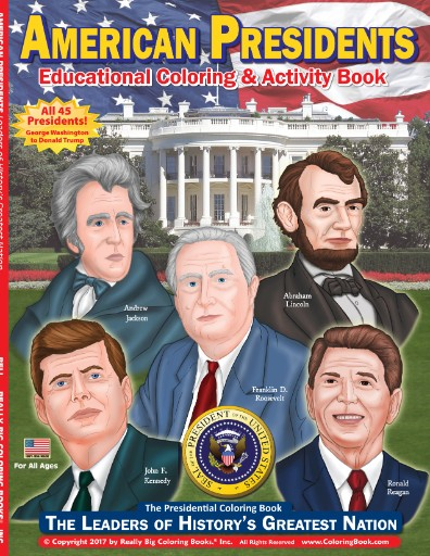American Presidents - The Leaders of History's Greatest Nation Coloring & Activity Book Magazine Subscriptions