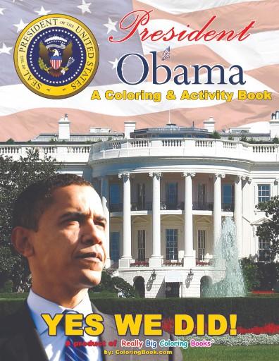 President Obama 2008 Activity & Work Book Magazine Subscriptions