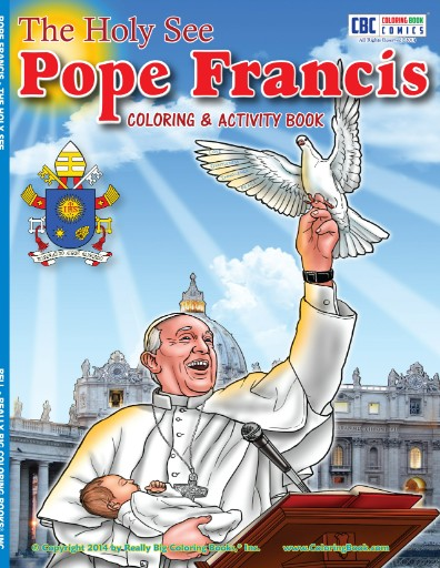 Pope Francis Coloring & Activity Book Magazine Subscriptions
