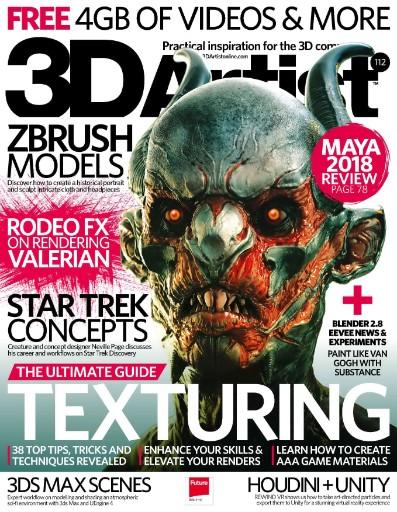 3D Artist Magazine Subscriptions