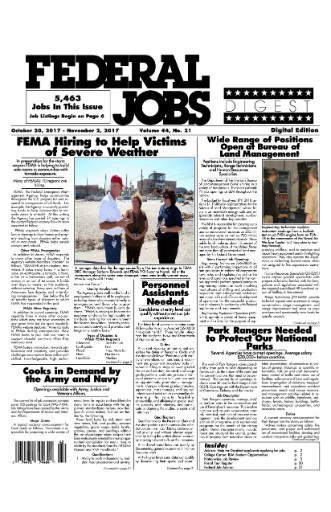 Federal Jobs Digest Magazine Subscriptions