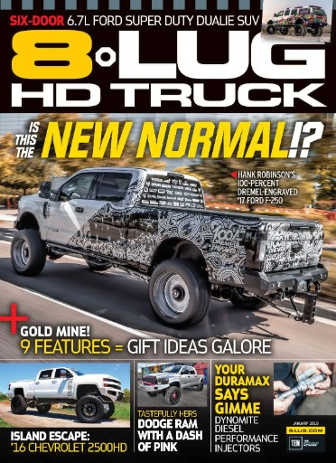 8-LUG HD Truck Magazine Subscriptions