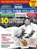 Who Do You Think You Are? Magazine Subscriptions