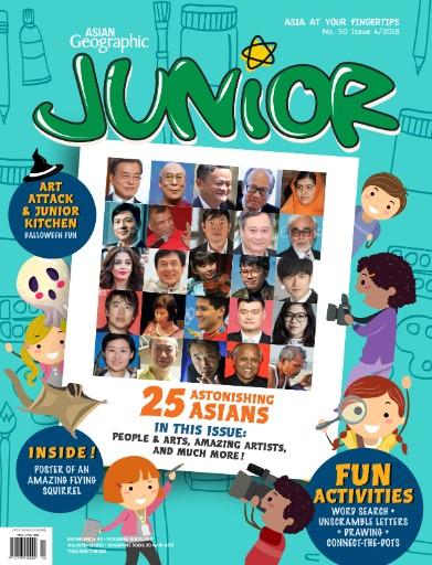 Asian Geographic Junior Digital Magazine Subscription Flipster