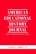 American Educational History Journal Magazine Subscriptions