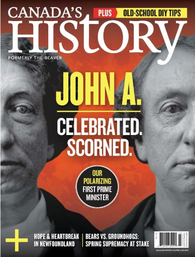 Canada's History Magazine Subscriptions