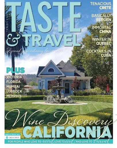 Taste & Travel International Magazine Subscriptions