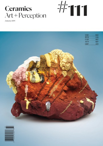 Ceramics: Art & Perception Magazine Subscriptions
