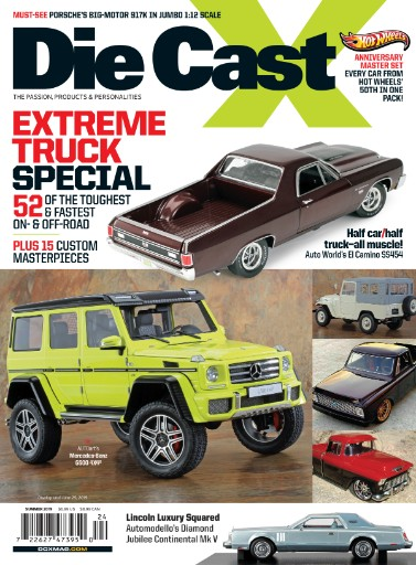 Die Cast X Magazine Subscriptions