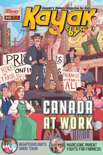 Kayak: Canada's History Magazine for Kids Magazine Subscriptions