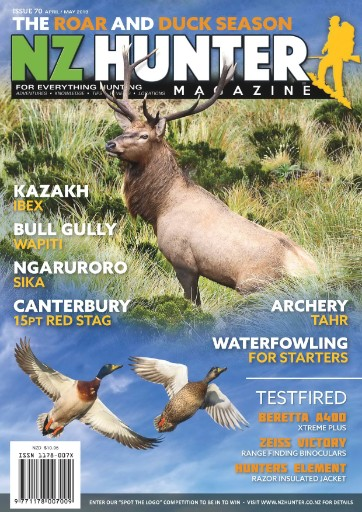NZ Hunter Magazine Subscriptions