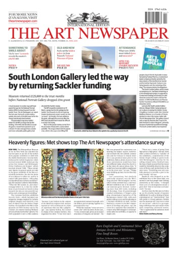 Art Newspaper Magazine Subscriptions