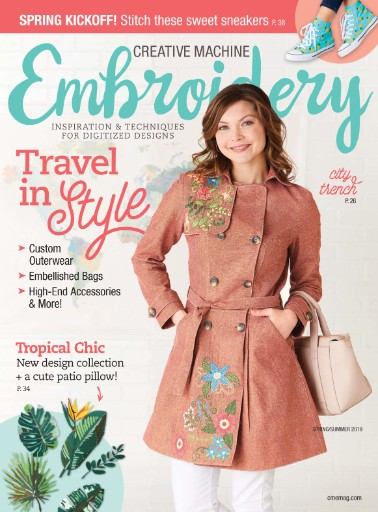 Creative Machine Embroidery Magazine Subscriptions