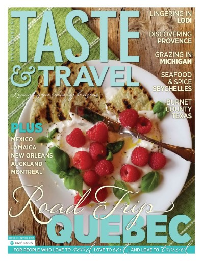 Taste & Travel International Magazine Subscriptions