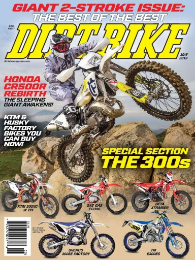 Dirt Bike Magazine Subscriptions