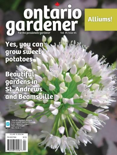 Ontario Gardener Magazine Subscriptions