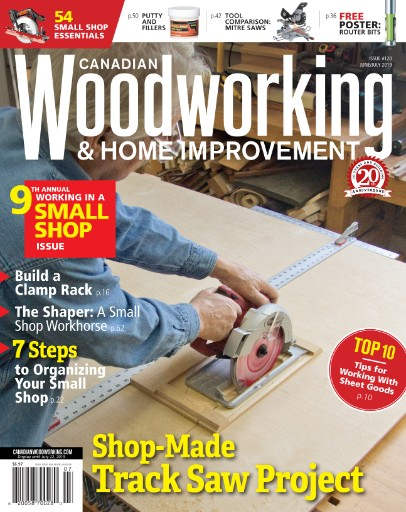 Canadian Woodworking Home Improvement Digital Magazine