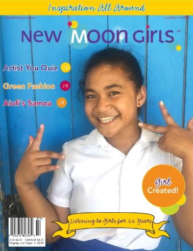 New Moon Girls Magazine Subscriptions