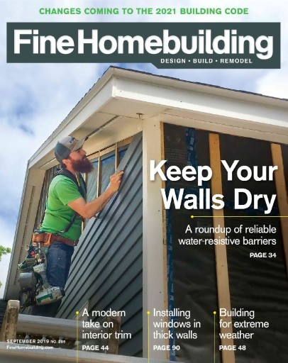 Fine Homebuilding Magazine Subscriptions