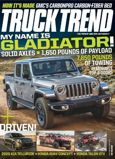 Truck Trend Magazine Subscriptions