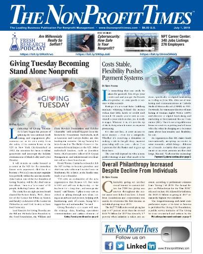 NonProfit Times Magazine Subscriptions