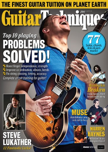 Guitar Techniques Magazine Subscriptions