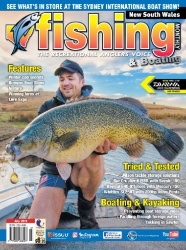 New South Wales Fishing Monthly Magazine Subscriptions
