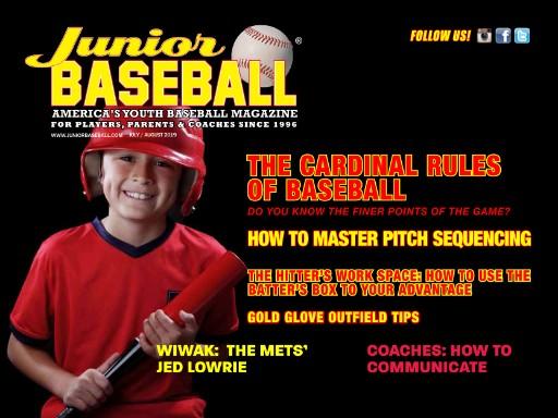 Junior Baseball Magazine Subscriptions