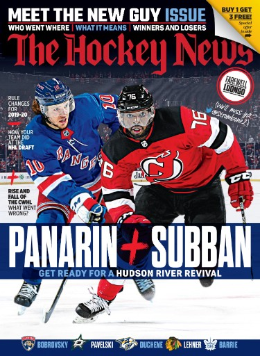 The Hockey News Magazine Subscriptions