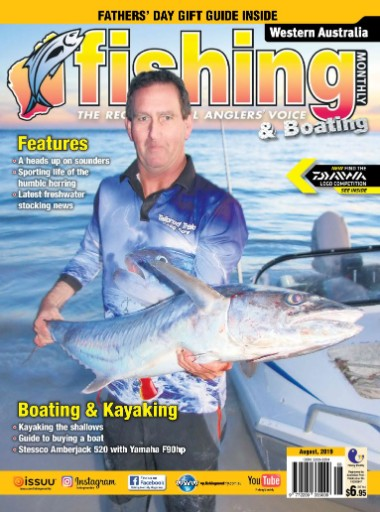 Western Australia Fishing Monthly Magazine Subscriptions