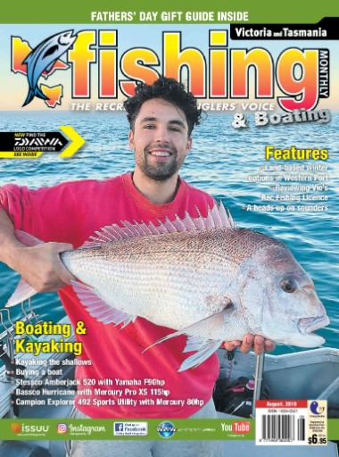 Victoria Fishing Monthly Magazine Subscriptions