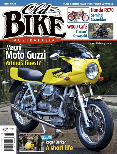 Old Bike Australasia Magazine Subscriptions