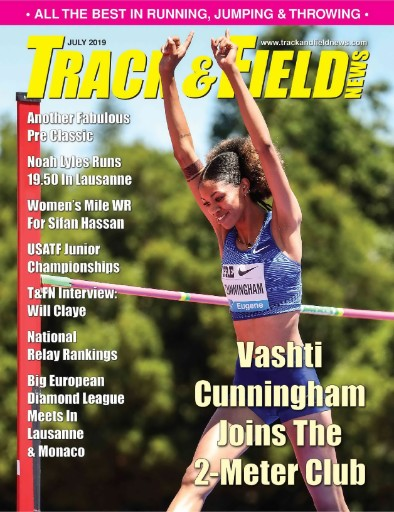 Track & Field News Magazine Subscriptions